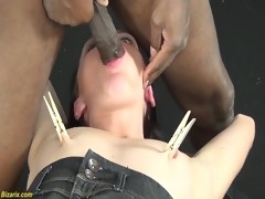 extreme interracial fetish lesson